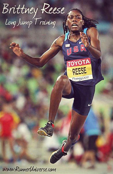 Brittney Reese Long Jump Training by Joe Walker ...