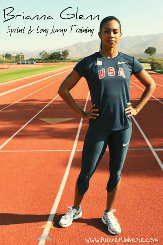 Video : Brianna Glenn Sprint & Long Jump Training ...