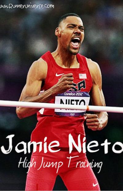 Jamie Nieto High Jump Training