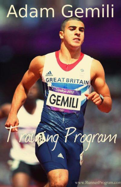 Adam Gemili Training by Michael Afilaka
